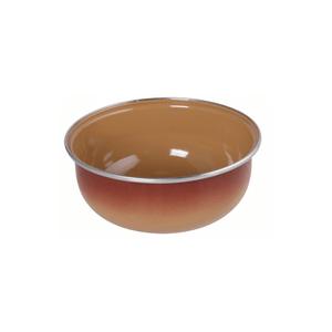 Conjunto de Tigela Esmaltadas – 03 pçs – Marrom (EWEL)