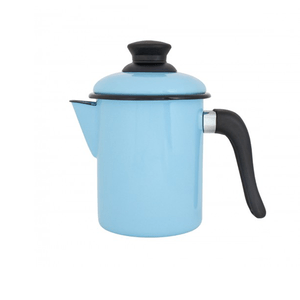 Leiteira Esmaltada - nº 10 - Azul Claro - 900 ml (EWEL)