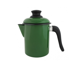 Leiteira Esmaltada - nº 10 - Verde - 900 ml (EWEL)
