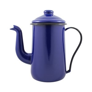Bule para Café Esmaltado Tradicional - nº 14 - Azul - 1500 ml (EWEL)