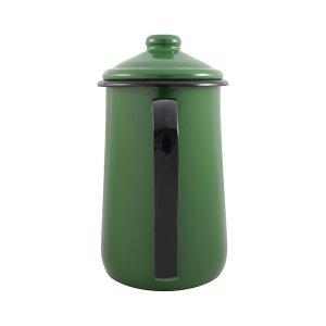 Bule para Café Esmaltado Tradicional - nº 14 - Verde - 1500 ml (EWEL)