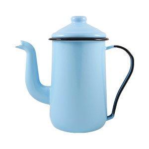 Bule para Café Esmaltado Tradicional - nº 14 - Azul Claro - 1500 ml (EWEL)