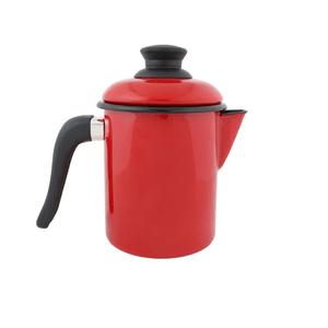 Leiteira Esmaltada - nº 10 - Vermelha - 900 ml (EWEL)