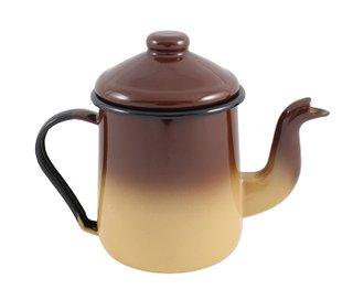 Cafeteira Esmaltada Tradicional - nº 12 - Marrom - 1100 ml (EWEL)