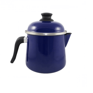 Leiteira Esmaltada Bojuda - nº 16 - Azul - 2000 ml (EWEL)