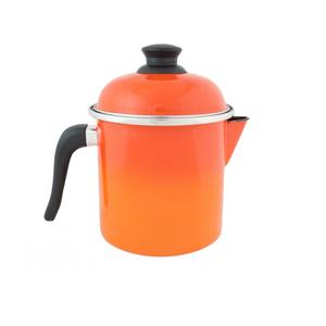 Leiteira Esmaltada - nº 16 - Laranja - 1800 ml (EWEL)