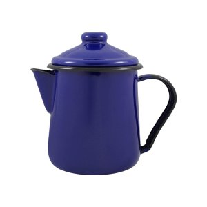 Leiteira Esmaltada Tradicional - nº 12 - Azul - 1000 ml (EWEL)