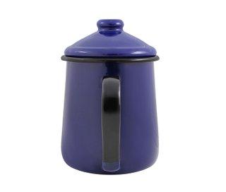 Cafeteira Esmaltada Tradicional - nº 12 - Azul - 1000 ml (EWEL)
