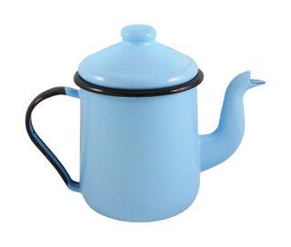 Cafeteira Esmaltada Tradicional - nº 12 - Azul Claro - 1100 ml (EWEL)