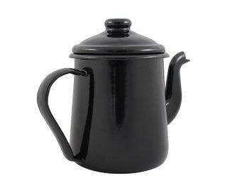 Cafeteira Esmaltada Tradicional - nº 12 - Preta - 1000 ml (EWEL)
