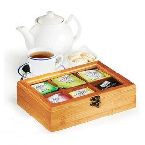 Caixa para chás em bambu/poliestireno Londres