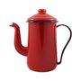 Bule para Café Esmaltado Tradicional - nº 14 - Vermelho - 1500 ml (EWEL)