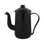 Bule para Café Esmaltado Tradicional - nº 14 - Preto - 1500 ml (EWEL)