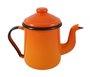 Cafeteira Esmaltada Tradicional - nº 12 - Laranja - 1100 ml (EWEL)