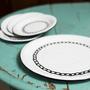 Conjunto de Sobremesa – 5 pçs – Branco Corrente (À LA GARÇONNE + EWEL)