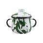Açucareiro Esmaltado - n° 8 - Verde - 380ml (EWEL Coleção Marmorizada)