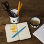Conjunto de Escritório – 2 pçs – Branco Estrela (À LA GARÇONNE + EWEL)