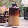 Bule para Café Esmaltado - nº 14 - Marrom - 1500 ml (EWEL)