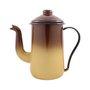 Bule para Café Esmaltado Tradicional - nº 14 - Marrom - 1500 ml (EWEL)