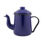 Cafeteira Esmaltada Tradicional - nº 12 - Azul - 1100 ml (EWEL)