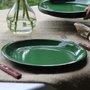 Prato Esmaltado Raso - nº 26 - Verde - 700 ml (EWEL)